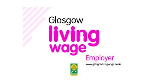 Glasgow Living Wage Logo