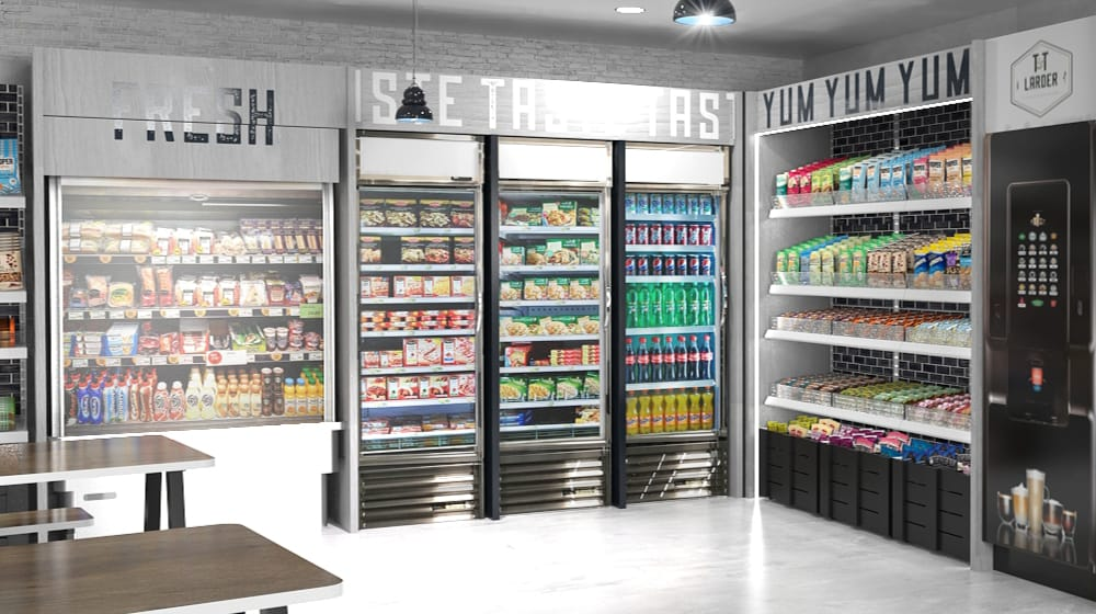 Abercromby Micro Market Fresh Food Dispensing