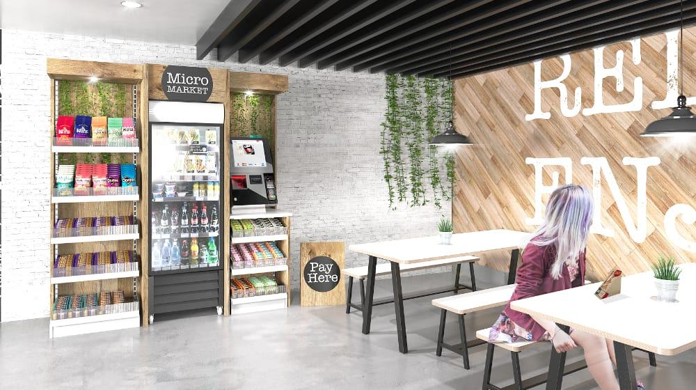 Micro Market Snack & Drinks
